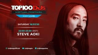 Steve Aoki Live From The Top 100 DJs Virtual Festival