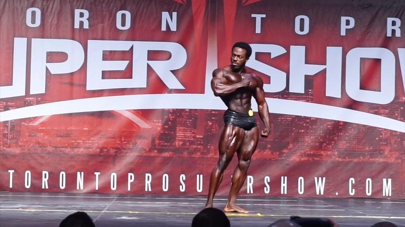Terrence Ruffin| Survivor Routine| 2018 Toronto Pro
