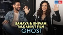 Sanaya Irani Shivam Bhargava talk about their upcoming movie Ghost Exclusive Interview