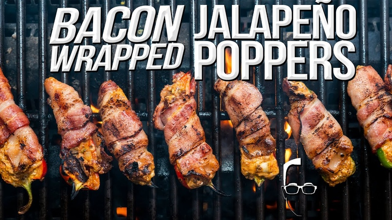 THE BEST BACON WRAPPED JALAPEÑO POPPERS SAM THE COOKING GUY 4K