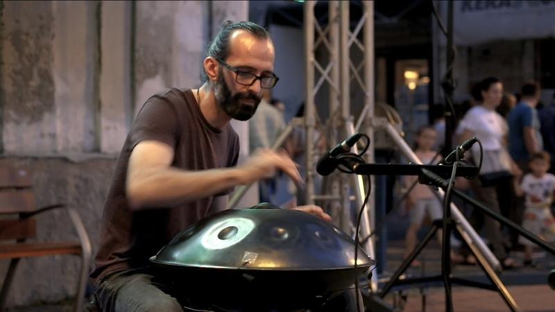 NADAYANA Pantam aka Handpan Improvisation Gong Bass