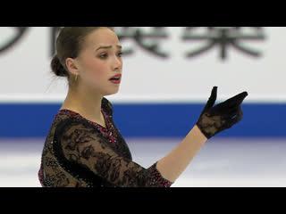 Alina zagitova short isu grand prix final 2019
