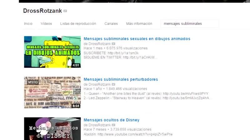 Mensajes subliminales en Logotipos Drossrotzank