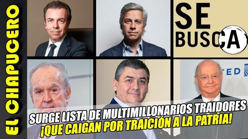 ALERTA Estos son los millonarios traidores que buscan que EU invada México