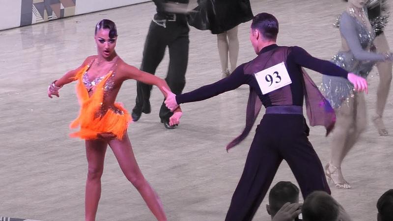 Denis Seregin Anastasia Vayradian Jive Russian Championship 2019 = 10 Dance