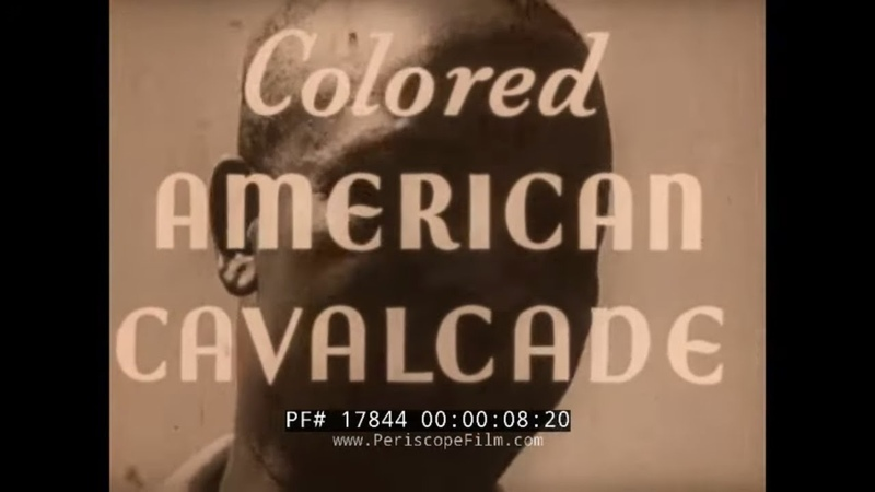 COLORED AMERICAN CAVALCADE 1939 AFRICAN AMERICAN GOLFERS UNITED GOLF ASSOCIATION TOURNY 17844