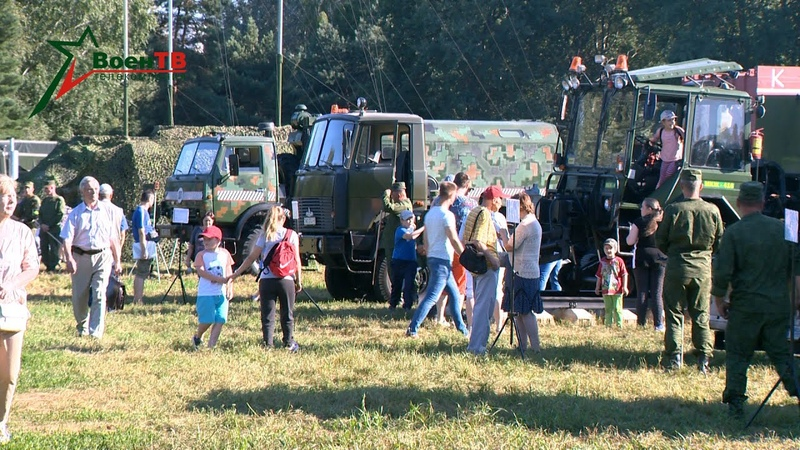 День железнодорожных войск в парке Дружбы народов