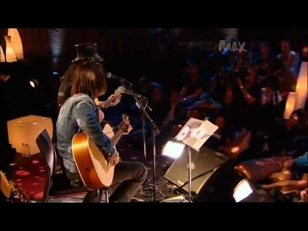 Patience Slash Myles Kennedy Rare Acoustic MAX Sessions 2010 Best Quality 480p
