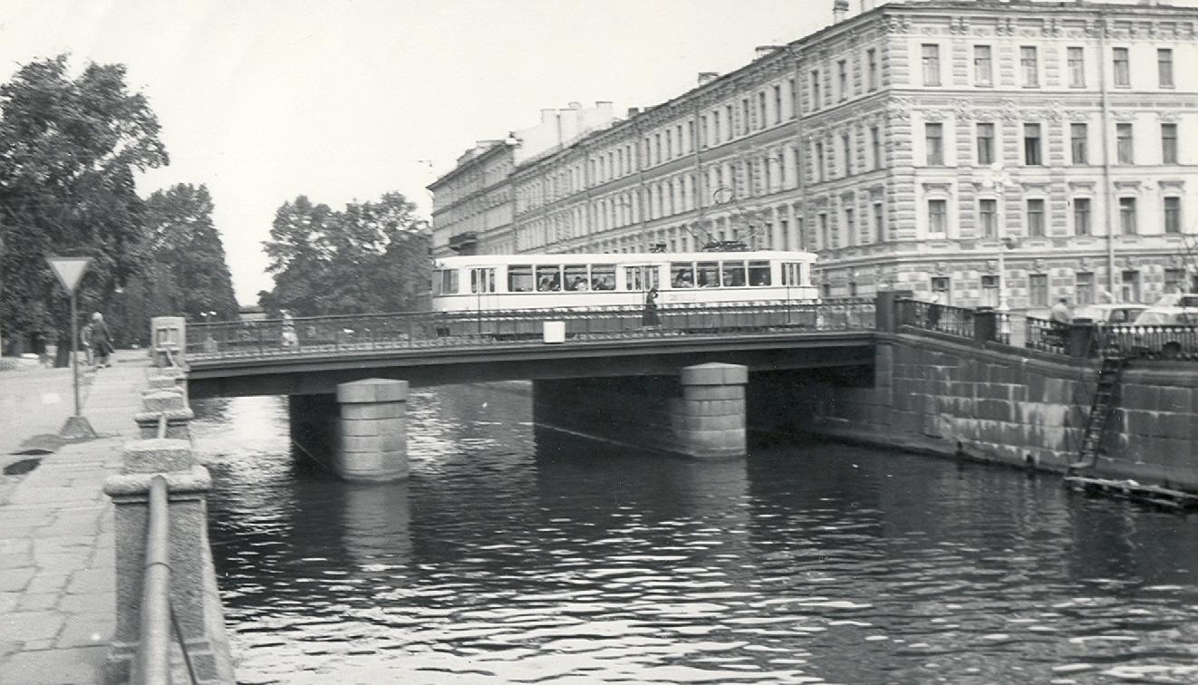 Фото второй половины 1970-х годов. Крюков канал. Мост Декабристов