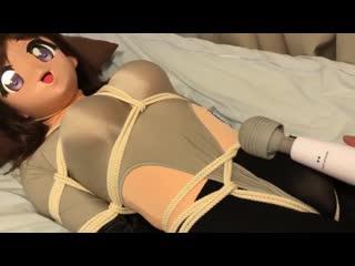 Kigurumi bondage vibrating