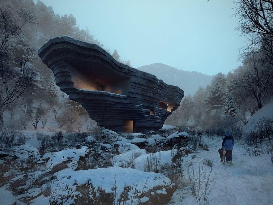 Концертный зал по проекту OPEN Architecture в Китае
