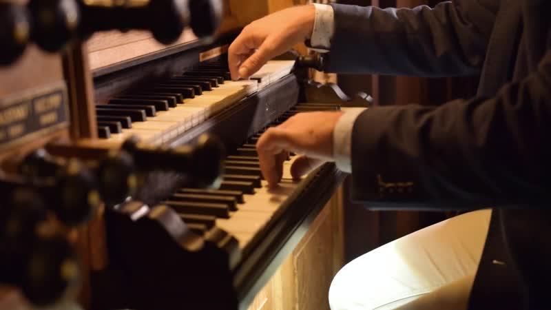 Carl Philipp Emanuel Bach - Thema mit Variationen in D-Moll - Reinier Korver, organ