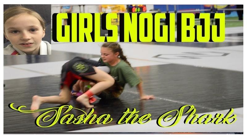 NOGI BJJ Jiu Jitsu Girl Sasha the Shark at Newbreed Jiu Jitsu Tournament