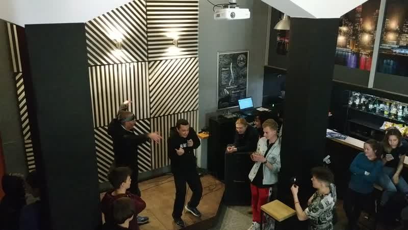 Хэдшот отжигает на сцене New York Coffee