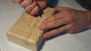Геометрическая резьба по дереву. Урок 6_2 (geometric wood carving)