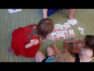 английский язык дети 5-7 лет. Начальный уровень ,третье занятие
