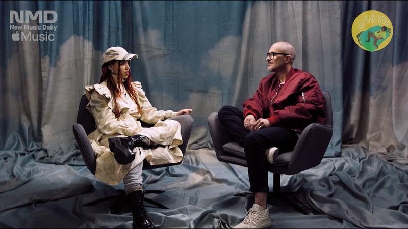 Интервью FKA twigs с Zane Lowe 'MAGDALENE' (русский перевод)