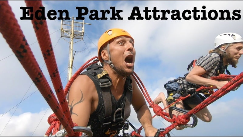 Eden Park and CRaZZZy Attractions Davao 2019