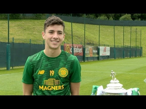 Celtic's Mikey Johnston wants to make his mark in Europe