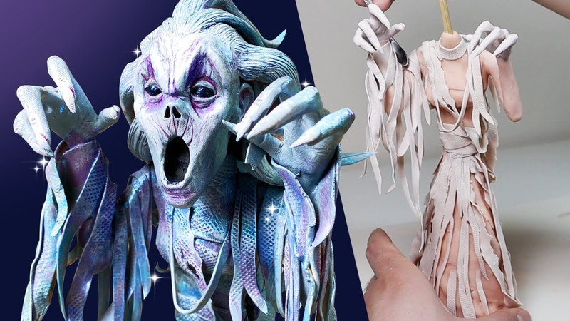Making a BANSHEE from RUBBER Clay Sculpting Subscriber Requests Ep 13 Ace of Clay