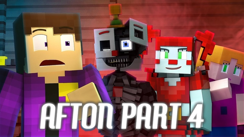 DADDY'S LITTLE MONSTERS FNAF SL Minecraft Music Video Afton Part 4 3A Display