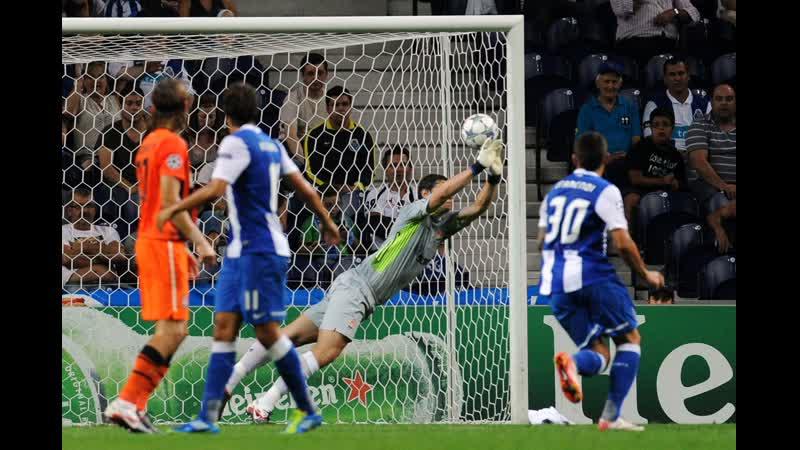 Пушка страшная от Халка Лига Чемпионов-2011-12 Порту vs Шахтёр Самый сильный удар в истории