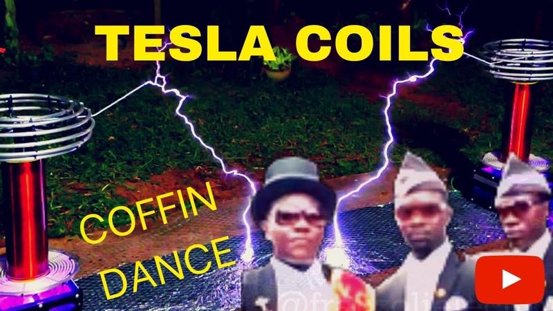 Coffin Dance Meets Musical Tesla Coils Astronomia