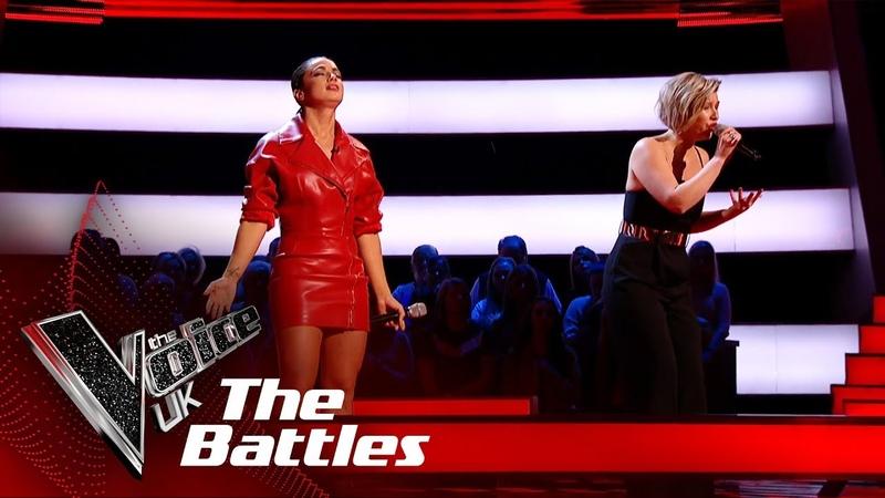 Bethzienna Williams VS Moya Never Tear Us Apart The Battles The Voice UK 2019