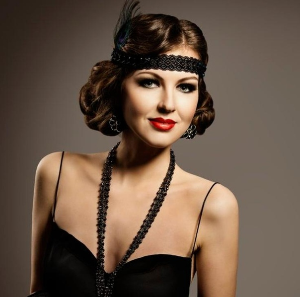 flapper hairstyles - 603×590