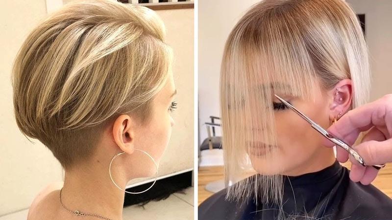 Удивительные короткие стрижки \ Прически для женщин \ Amazing short haircuts \ Hairstyles for women
