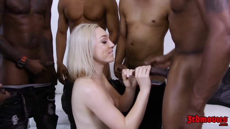 My First Black Gang Bang ( Lily La Beau, AJ Applegate, Isiah Maxwell, Chris Cock, Jack