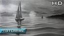 Cómo Dibujar un Velero en el Mar a Lápiz Paso a Paso Dibujo de un Barco