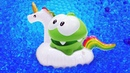 Смешные мультики для малышей Ам Ням и аквариум с водой Приключения Ам Няма
