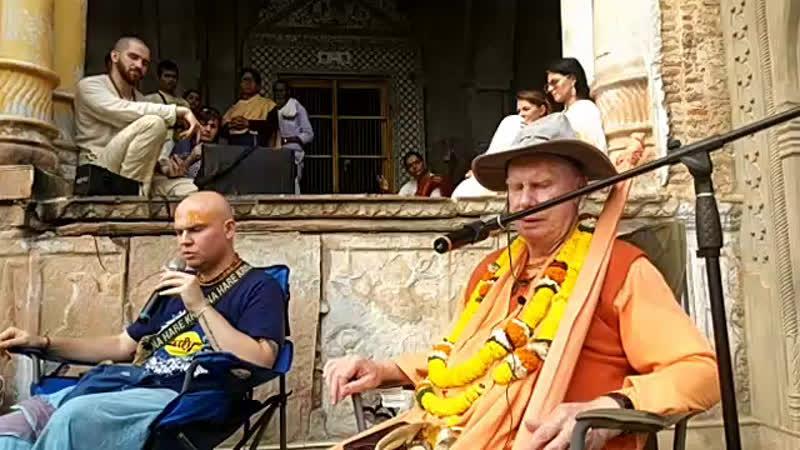 11 ноября ВМП Камьяван храм Радха Говинда часть 2