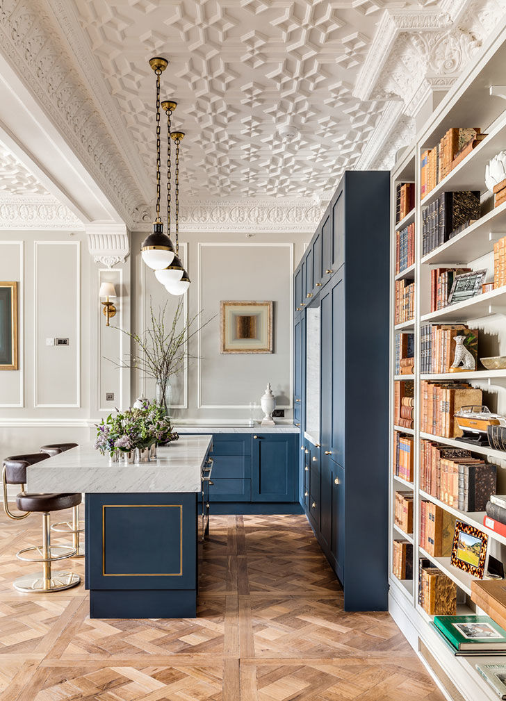 Элегантная и стильная квартира кинопродюсера в Лондоне