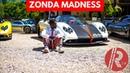 10 Pagani Zondas Cause madness in London | Zonda Fantasma Evo