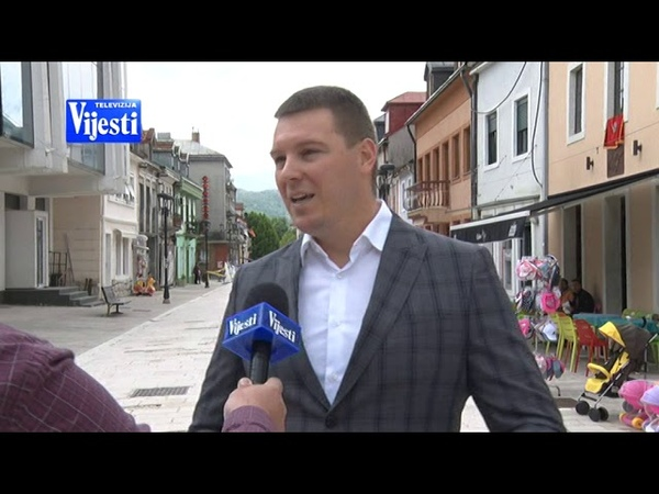 NJEGOŠEVA ULICA CETINJE TV VIJESTI 26 05 2019