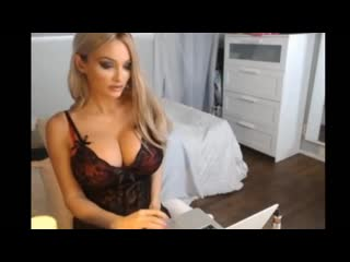 Sexy blonde with big tits Hot Erotic Posing Nude 18
