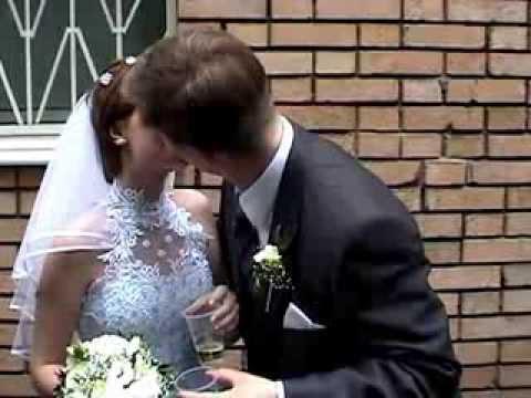 Свадьба Романа и Виктории Ворониных. Часть 1 (08.06.2002)