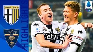 Parma 2-0 Lecce | Super Sub Cornelius Seals The Points! | Serie A