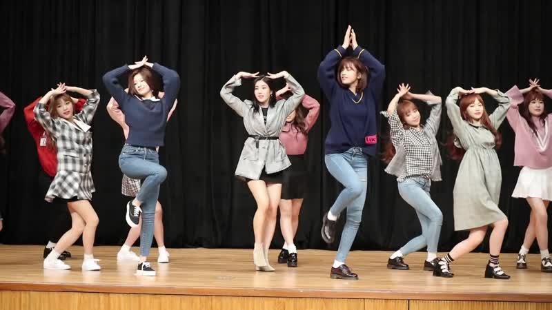 181104 IZ*ONE 'La Vie en Rose' @ Busan Design Center Event Hall Fansign