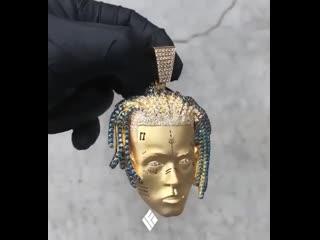 """diamante logo"" chain"