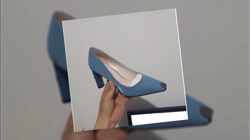 Rhinestone pointed toe high heels women shoes 2019
