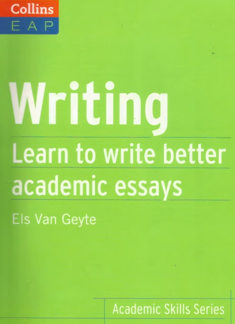 Writing Learn Write Better Academic