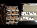 How to weather tank tracks with VMS Alkyd binders PART 4 WEATHERING TRACKS