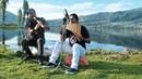 Красивая музыка на фоне природы 😍 Волшебные виды. Прелесть! Карлос и Райми настоящие таланты. Браво!