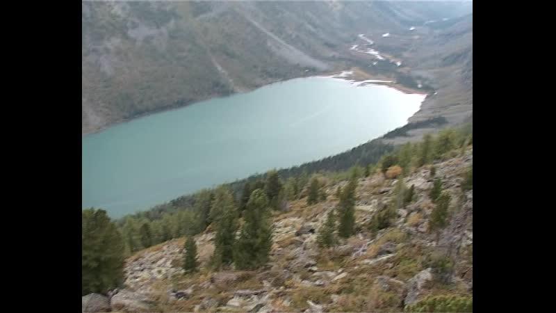 Вид на долину Мульты с водораздела Крепкой