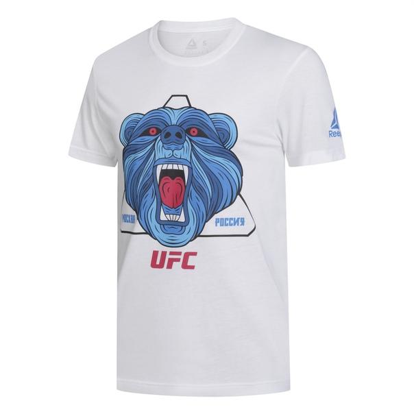 Футболка Reebok UFC с медведем