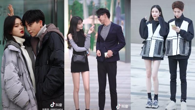 抖音 Cutes And Sweet Couples Fashion On The Streets Cẩu Lương Đáng Yêu 6 Larangehia TV