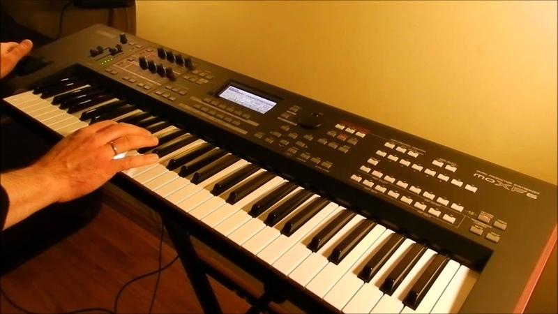 Still I'm Sad - The Yardbirds / Raibow / Boney M / Gregorian - Piotr Zylbert on Yamaha moXF6